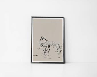 Winnie The Pooh II | Art Print