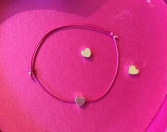 """Sweetheart""! Simple, delicate, symbolic bracelet."