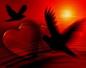 Heart chakra self-love healing Tarot Reading