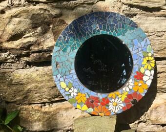 Floral Mosaic Mirror