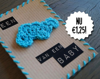 Birth Announcement | A cloud of a baby