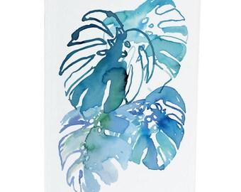 Monstera - A6 Greeting Card