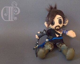Hanzo Overwatch Plush Doll Plushie Toy
