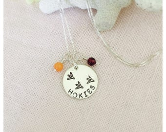 Hokies, Virginia Tech Necklace