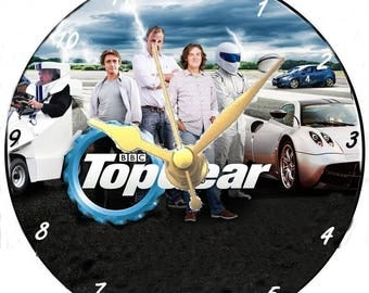 Top Gear CD Clock