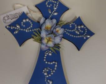 "Spring Crocus 7""  Cross"