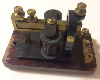 Vintage Working Telegraph Receiver Steampunk