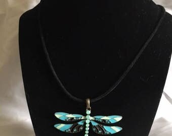 Fire Fly Necklace 16 inches