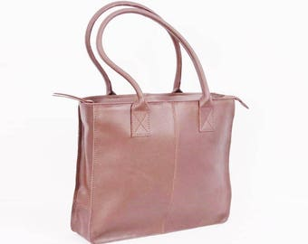 Dark Brown Genuine Leather  Bag