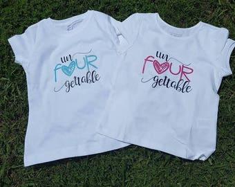 Fourth Birthday Shirt, Un Four Gettable, Unfourgettable, 4 Year Old Birthday Shirt