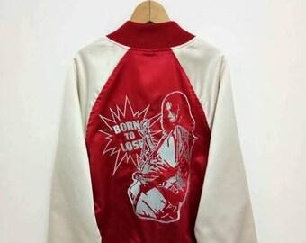 On Sale 20% Off Vintage Hysteric Glamour Souvenir Jacket/Hysteric Japan/Hysteric Glamour Sukajan