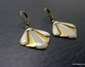 Theodora Deco earrings, earrings