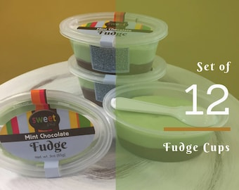 FUDGE Cups (BULK Set of 12)