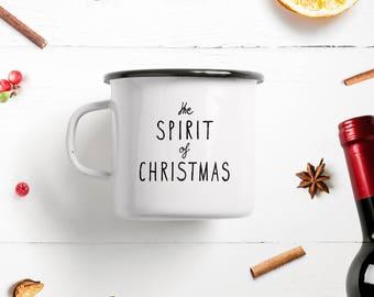 Enamel mug Cup / Spirit