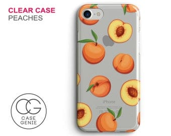 Peach Iphone Case Etsy