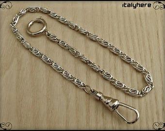 Chain pocket watch, snail model, 35 cm