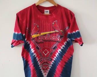 Rare Vintage St.Louis Cardinals Baseball Tshirt Size M