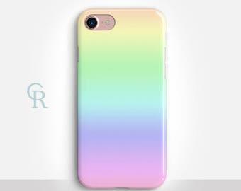 Rainbow iPhone X Case For iPhone 8 iPhone 8 Plus - iPhone X - iPhone 7 Plus - iPhone 6 - iPhone 6S - iPhone SE - Samsung S8 - iPhone 5