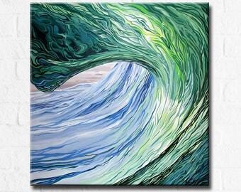 Blue Highway - Original Acrylic Painting