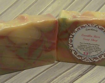 Gardenia Handmade Cold Process Soap
