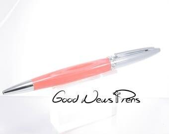 Pink Pens,Custom Pens,Ballpoint Pens,Bling Pens,Ladies Pens,Desk Accessories,Pens,Office Gifts,Journal Writing,Swarovski Crystals,Fancy Pens