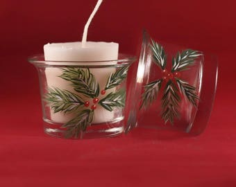 Candle holders (christmas)set of 4