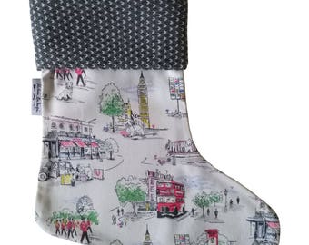 Christmas Stocking Cath Kidston Fabric