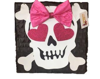 Girly Skull Pinata Halloween Pinata