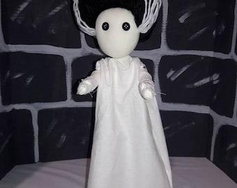 "Bride of Frankenstein Doll 17"" Tall"