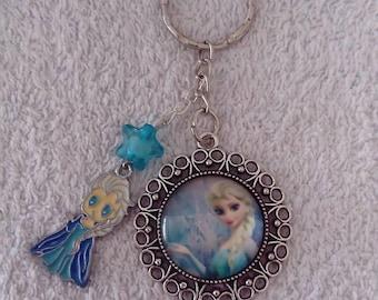Keychain or bag frozen jewelry