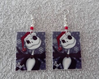 Boucle d'oreille Jack (the nightmare before christmas)