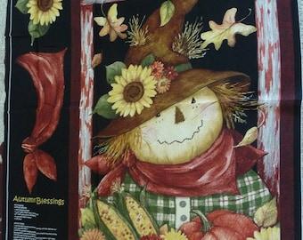 """Scarecrow fabric panel  44"""" x 35"""""""