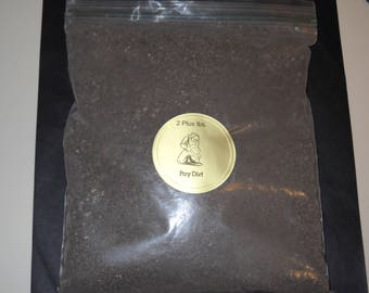 Gold and Silver Paydirt 2 lbs Plus. Big Batch