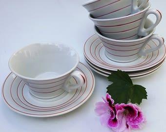 Vintage tea set italy etsy for Alpine cuisine tea set