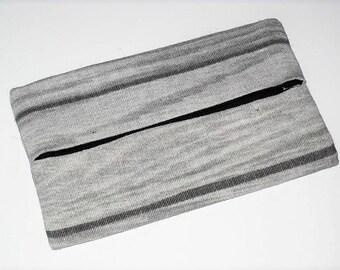"""Tissue holder case """"effect grey wood"""""""