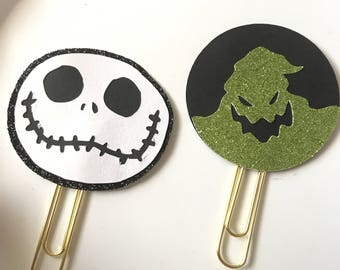 Nightmare Planner Clips // Paper Clips // Bookmarks