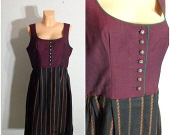 Vintage Women Dress GERMAN STYLE