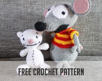 FREE CROCHET PATTERN-- Toopy and Binoo