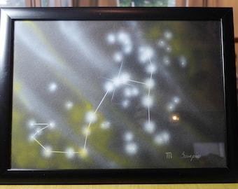 SCORPIO | Astrological Constellation | Painting
