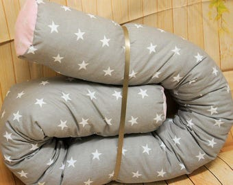 BaByNeStcHen, Bettrolle, nests, bed-snake approx. 150 cm