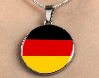 German Pride - Luxury Necklace - Jewelry Gift For Her