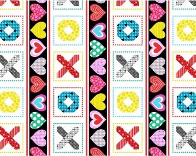 Big Love by Studio E - Border Stripe - Cotton Woven Fabric