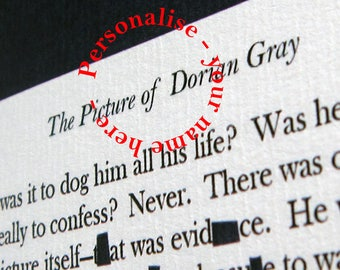"""The Picture of Dorian Gray """"Fancy Creatures"""" - by Oscar Wilde. Unique personalised digital A3 print"""