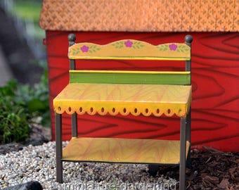 Potting Bench for Miniature Garden, Fairy Garden
