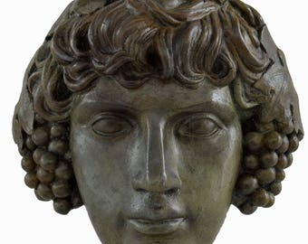 Antinous, Antinoos Bronze Mask the favourite of the Emperor Hadrian