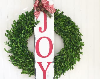 Ready to Ship - Joy Sign - Rustic Christmas Sign - Holiday Decor - Christmas Decor - Farmhouse Christmas Decor - Christmas Wood Sign