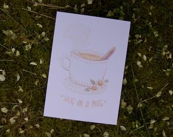 Hug in a Mug - Print