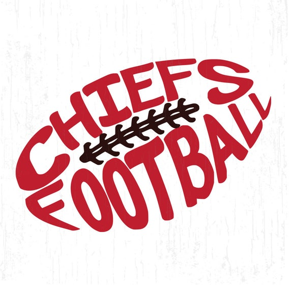 Chiefs Football Chiefs Svg Football Laces Svg Football Svg