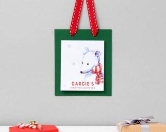 ON SALE Advent Calendar | Christmas Countdown | Childrens Advent | Christmas Calendar | Personalised Christmas Countdown Advent Pad