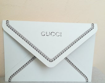 Gucci Vintage Envelope for greetings for ties scarf